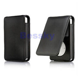 Leather Flip Case Cover Skin for Apple iPod Classic 80 120GB Cheap