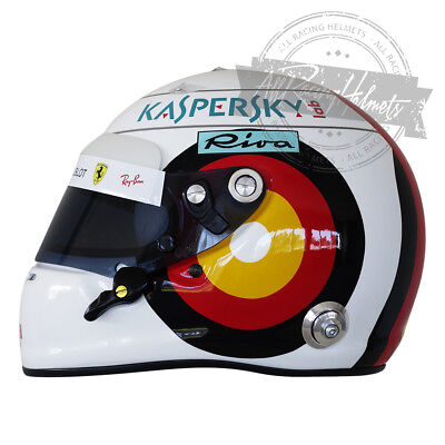 Used, Sebastian Vettel 2018 German GP Formula 1 F1 Replica Helmet Scale 1:1 Helm Casco for sale  Hollywood