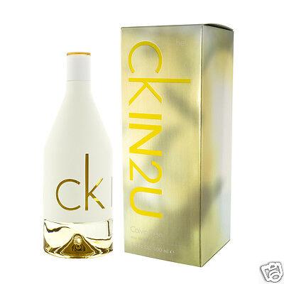 Her 100 Ml Edt (Calvin Klein CK In2U for Her Eau De Toilette EDT 100 ml (woman))