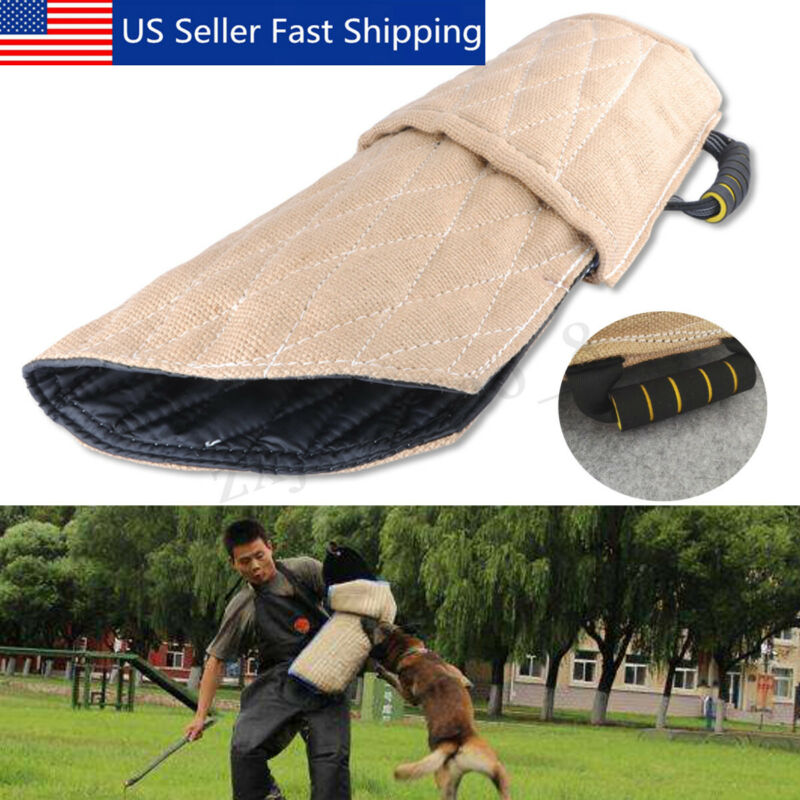 Police Dog Training Bite Sleeve Arm Protection Tub Toy For Young Dogs Workin