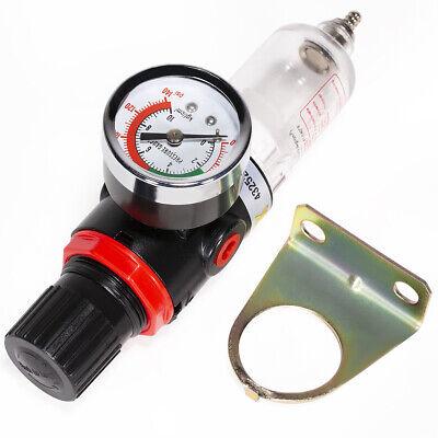 14 Npt Air Compressor Filter W Regulator Gauge Water Trap Air Tool Compressor