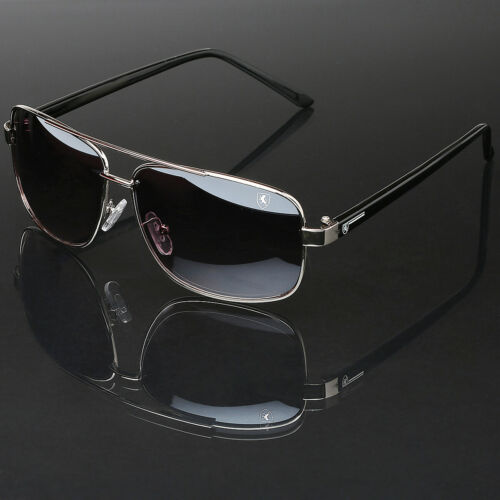 Square Frame Aviator Glasses Retro Vintage Fashion Men Women Driving Sunglasses