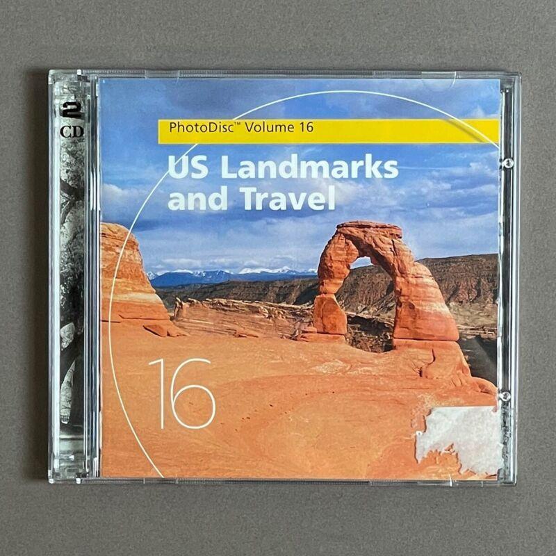 PhotoDisc - US LANDMARKS & TRAVEL - Stock Photography (Volume 16) - 300+ images