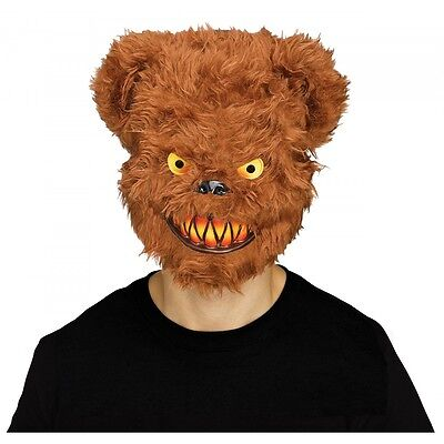 Scary Teddy Bear Mask Adult Evil Psycho Halloween Costume Fancy - Scary Teddy Bear Halloween