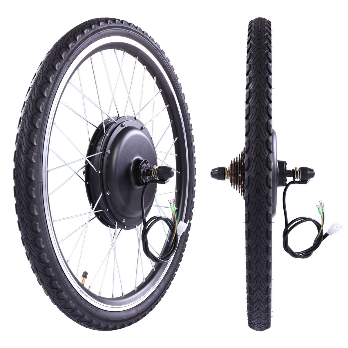 "48V 1000W Electric Bicycle Cycle E Bike 26""Conversion Kit Hu"