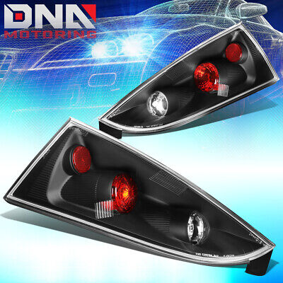 FOR 2002-2007 FORD FOCUS 5DR WAGON BLACK ALTEZZA STYLE TAIL LIGHT BRAKE LAMPS - Ford Focus Altezza