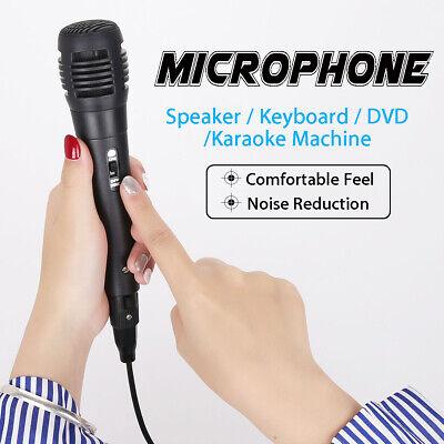 Uni-directional Handheld Wired Microphone Professional Mic KTV Karaoke Vocal USA