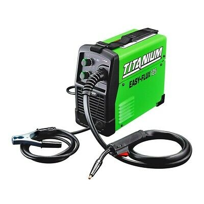 Titanium Easy-flux 125 Amp Welder