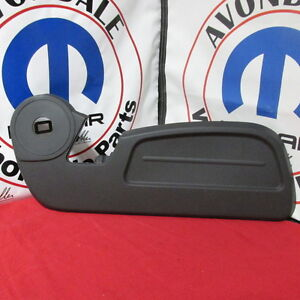 2007-2009-Dodge-Nitro-Dark-Slate-Gray-Passenger-Side-Outer-Seat-Shield-Mopar-OEM