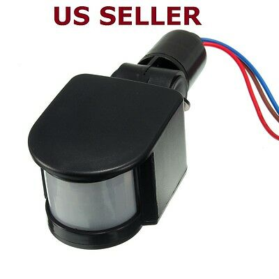 Outdoor 90-240v Ac Automatic Infrared Pir Motion Sensor Switch For Led Light