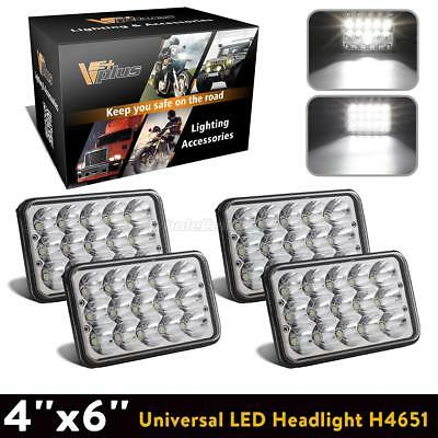4x6 replacement rectangle headlight hi/lo led sealed beam for GMC G2500