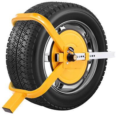 Radkralle Parkkralle Wegfahrsperre Reifenkralle Diebstahlsicherung PKW Anhänger