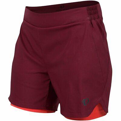 Pearl iZUMi W Journey Shorts, Port/Cayenne, 6