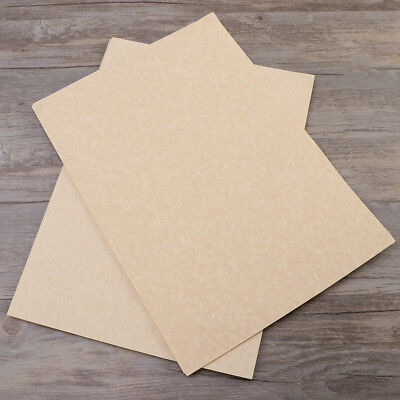 50 Sheets A4 Vintage Paper Imitation Sheepskin Aged Parchment Paper Perfe for sale  China