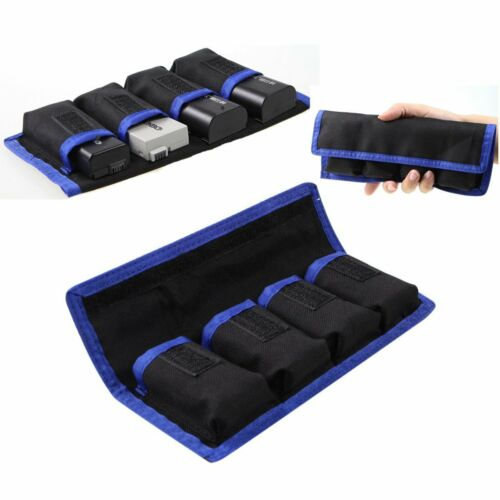 Waterproof Camera 4 Li-ion Battery Case Pouch Bag For LP-E6