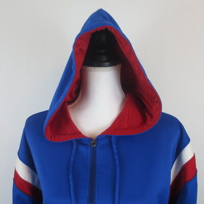 Augusta Sportswear Men's Vortex Hooded Sweatshirt Pullover L XL Blue Red White  Augusta Sportswear Pullover