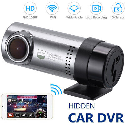 WIFI Car Dash Cam HD 1080P Hidden Car DVR Camera Recorder Night Vision G-Sensor