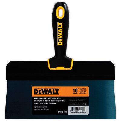 Dewalt Taping Knife 10 Premium Blue Steel Big Back Drywall Taping Tool