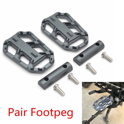 Motorcycle Wide Foot Pegs Rest Footpegs For BMW R1200GS R1200 GS R 1200 GS 13-17