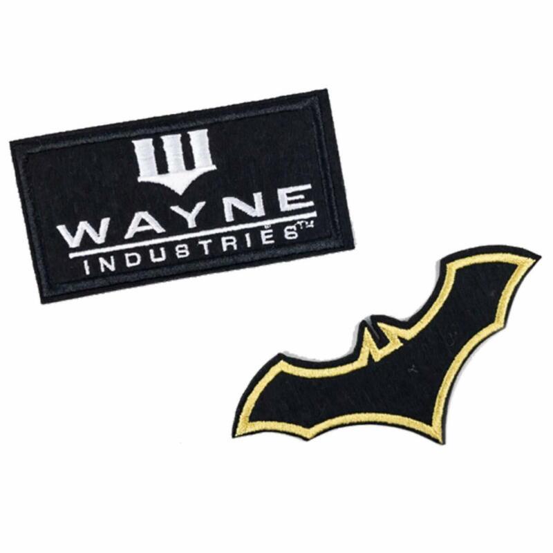 Batman Emblem Patches Set for Bags, Coat, Jacket, Hat Cap, Tactical Vest & More
