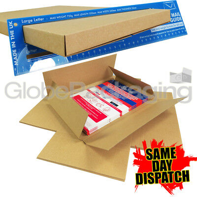25 x C4 A4 SIZE STRONG MAX LARGE LETTER PIP SHIPPING POSTAL MAILING BOXES