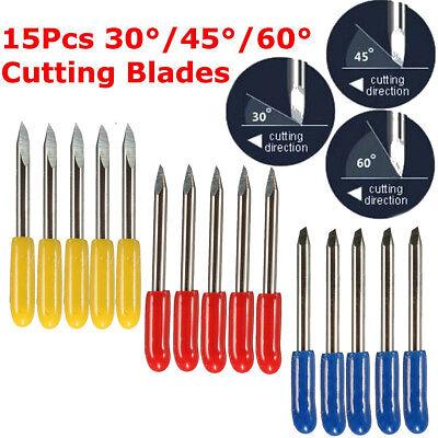 15pcs 30 45 60 Cutting Tungsten Blade For Mimaki Cutting Plotter Vinyl Cutter