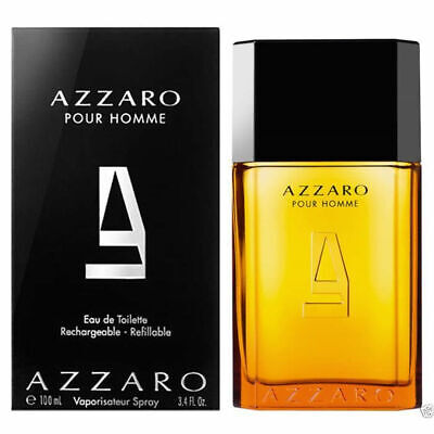 AZZARO pour HOMME Cologne for man 3.3 oz (Rechargeable) New Great scent