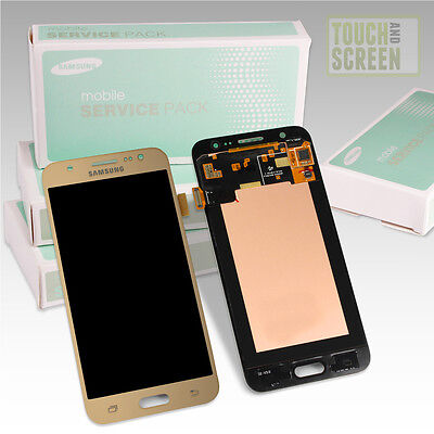 100% Original Samsung Galaxy J5 SM-J500F Display Screen gold