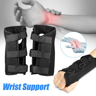 1 Pair Carpal Tunnel Wrist Brace Splint Sprain Syndrome Forearm Support Recovery Carpal Tunnel Syndrome Wrist Support