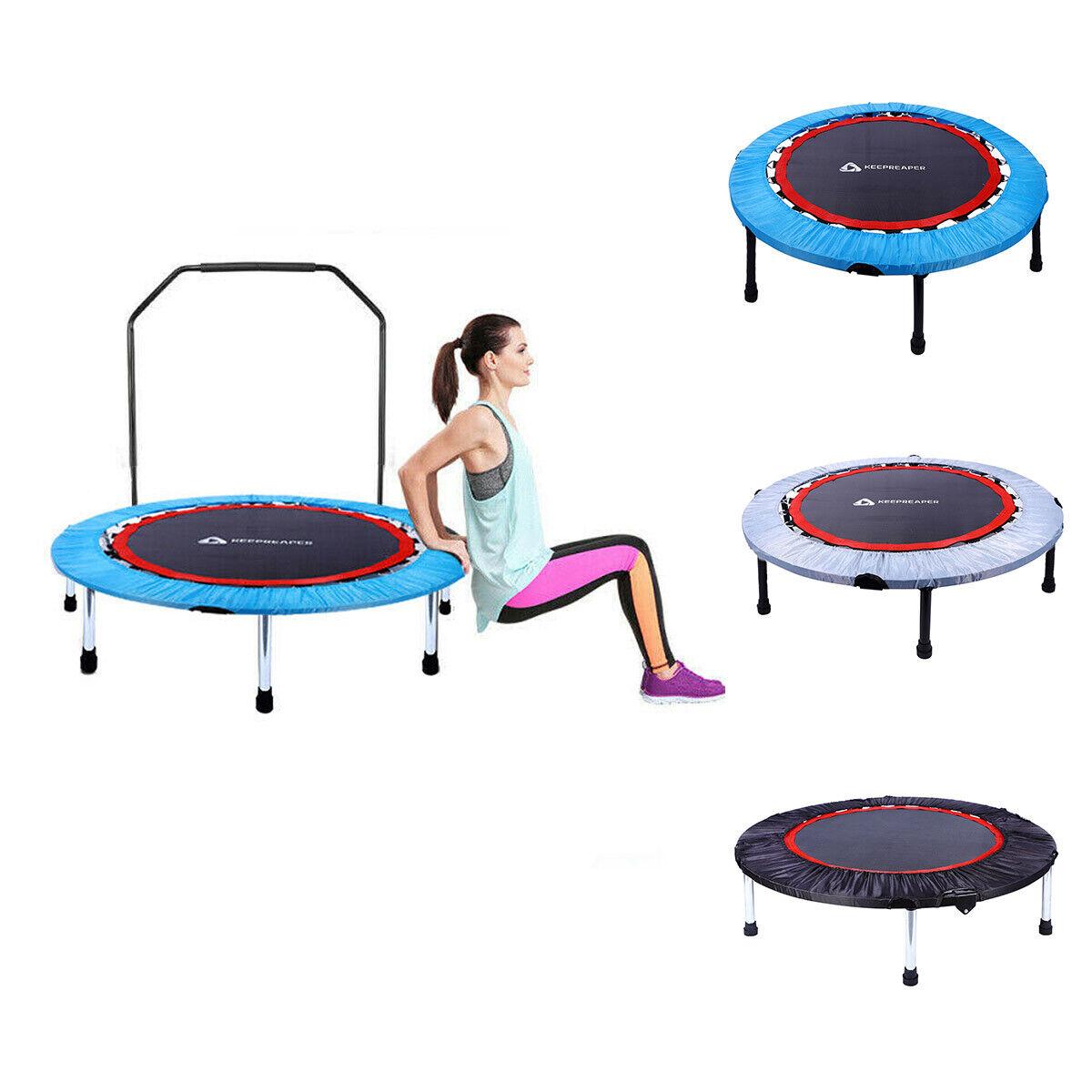 "40"" Mini Rebounder Trampoline Exercise Fitness Gym Jump Trai"