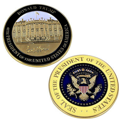 Donald Trump 45Th President White House Challenge Coin Potus  Inaugural