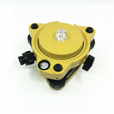 Yellow Gps Carrier Fixed Adapter With 58 Thread Tribrach With Optical Plummet
