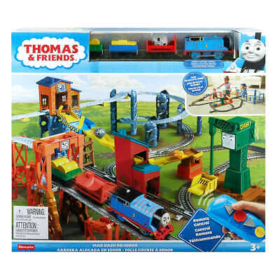 Thomas and Friends Mad Dash On Sodor RC Train Set With Remote Control Fast Ship