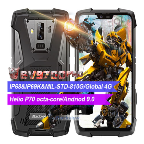 Blackview BV9700 Pro IP69 Robuste Handy 6GB+128GB Helio P70 Octa core Smartphone