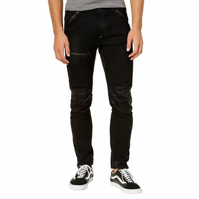 G-STAR RAW NEW Men's 5620 Washed Out 3d Slim-fit Knee-patch Skinny Pants 36 TEDO