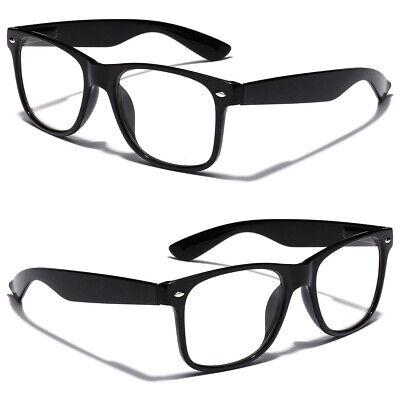 Non Prescription Kids Nerd Geek Costume Clear Lens Youth Teen Boys Girls Glasses](Kids Nerd Costumes)