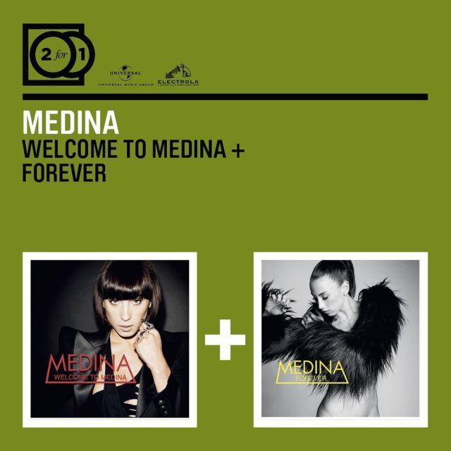 MEDINA - 2 FOR 1: WELCOME TO MEDINA/FOREVER 2 CD NEU