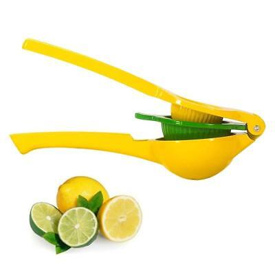 Quality Metal (Lemon Squeezer- Premium Quality Metal Lemon Lime Squeezer - Manual Citrus Press )