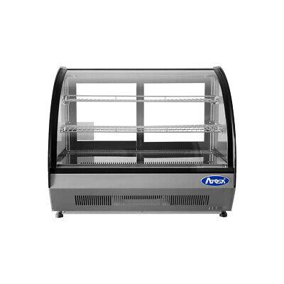Atosa Usa Crdc-35 27 Full Service Countertop Refrigerated Display Case 2 Sh...