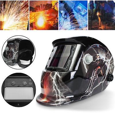 Solar Helmet Welder Mask Auto-darkening Welding Arc Tig Mig Adjustable Helmet