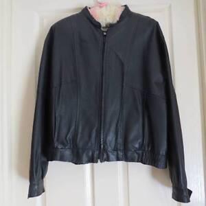 Vintage Ladies Leather Jacket Kootingal Tamworth City Preview
