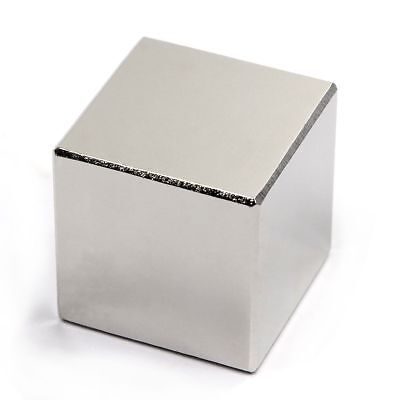 Lot 2 5 10 N50 Square Cube Block Super Neodymium Rare Earth Magnet 34 Inch.