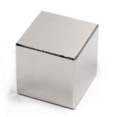 Lot 1 2 5 10 N52 Square Block Super Neodymium Rare Earth Magnetic Cube 1 Inch.