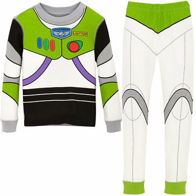 NWT Disney Store Buzz Lightyear Costume PJ Pal Pajama Set Toy Story Boys - Disney Buzz Costume