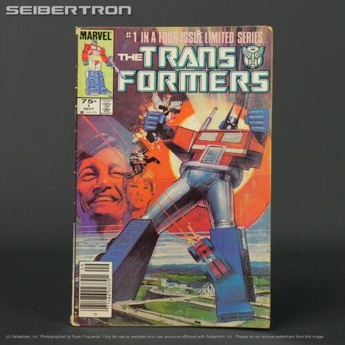 THE TRANSFORMERS #1 1st ptg Marvel Comics 1984 G1 201216C (CA) Sienkiewicz