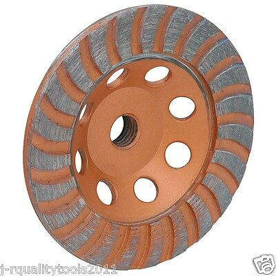 4 12 Inch Diamond Cup Grinding Grinder Wheel For Stone Concrete Surfacing