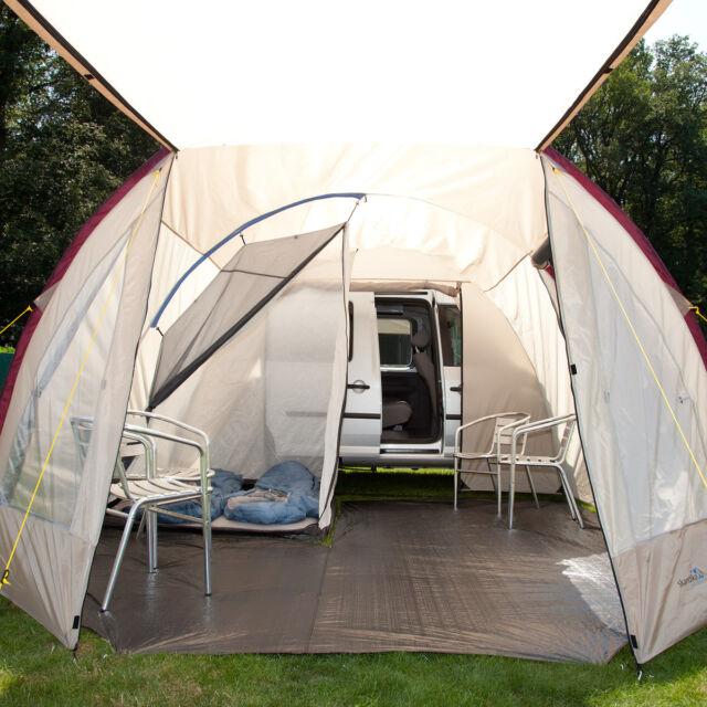 skandika C&er 2 Person/Man Mini Van Awning C&ing Tent Bus Canopy New & skandika Camper 2 Person Man Mini Van Awning Camping Tent Bus ...