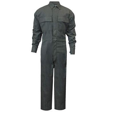 (2XLarge) National Safety Apparel Green OPF Blend Flame Resistant Coverall