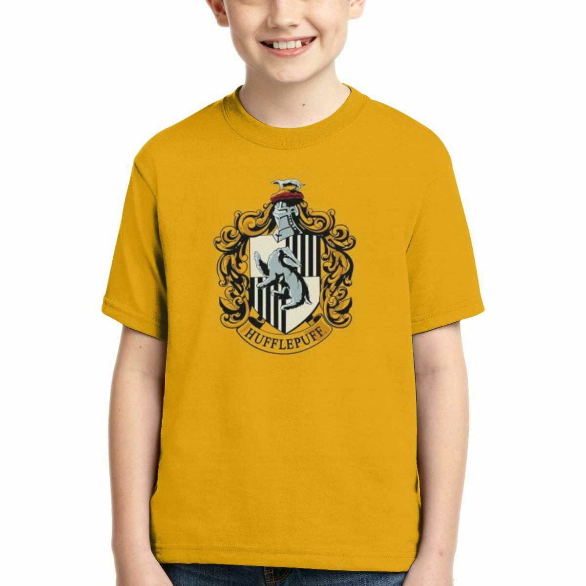 Griffindor Boys Long Sleeve T-Shirt,Fashion Youth Tops