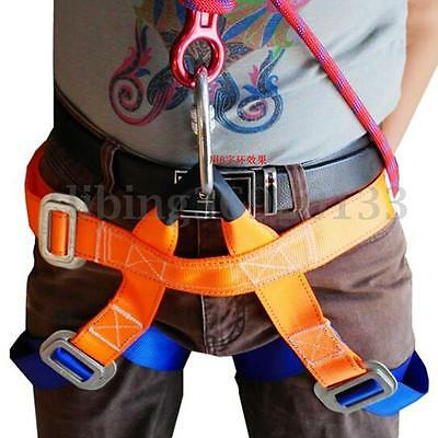 Half Body Climbing Harness Outdoor Safety Rappelling Mountaineering Belts Rock